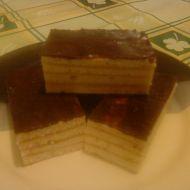 Řezy s karamelovým krémem recept