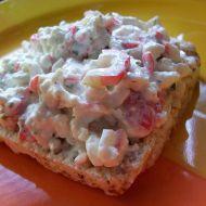 Krabí salát s cottage recept
