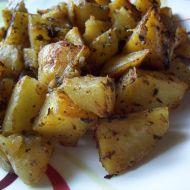Bylinkové brambory recept