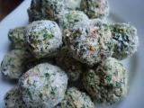 Špenátové kuličky recept