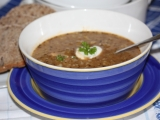 Kapustová polévka s uzeným masem recept