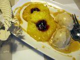 Grilovaný ananas s karamelovou omáčkou recept