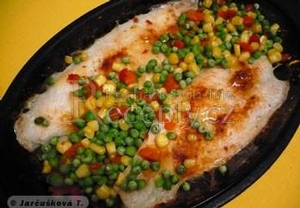 Skvělá ryba se zeleninou