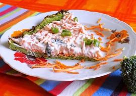 Brokolicový koláč s mrkvovou pomazánkou recept