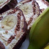 Banánová be-be stříška recept