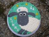 Dort ovečka Shaun  krémová recept
