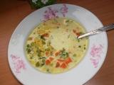 Mléčno  zeleninová polévka recept