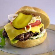Domácí hovězí burger recept