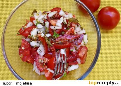 Pico de Gallo  salát v barvě mexické vlajky recept