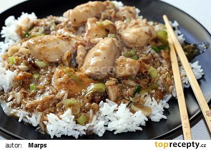 Šanghajské kuře recept
