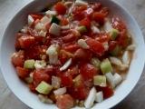 Rajčatový salát pikantní recept