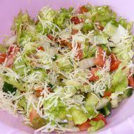 Zeleninový salát Parmazán recept