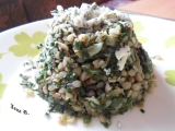 Pohanka se špenátem recept