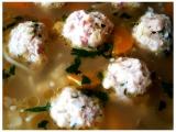 Masovo-morkové knedlíčky v hovězím vývaru recept