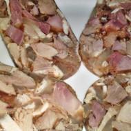 Lahůdková tlačenka ze dvou druhů masa recept