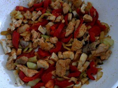 Rychlá večeře ze zbytků Rox