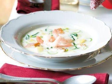 Rybí polévka z Islandu