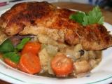 Kuřecí na kořenové zelenině recept
