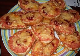Zapečené tousty- teplé chlebíčky recept