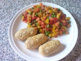 Cizrnové šišky se zeleninou recept