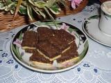 Cikánské řezy s ořechy recept