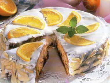 Vánoční pomerančový dort