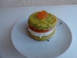 Slané koláčky plněné sýrem a rajčetem recept