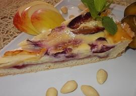 Smetanovo-pudingový koláč s ovocem recept
