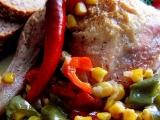 Mexická kuřecí stehýnka (čtvrtky) recept