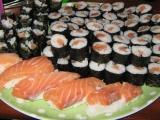 Sushi s lososem recept