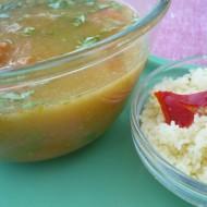 Zeleninová polévka s kuskusem recept
