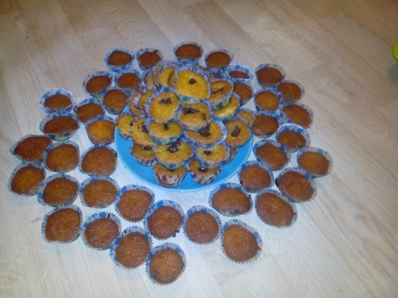 Výborné jednoduché muffiny recept
