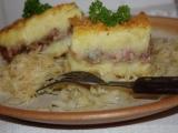 Mleté maso pod bramborovou kaší recept
