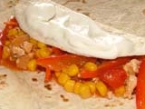 Burritos s kuřecím masem recept