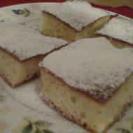 Rychlý koláč s vanilkovým pudinkem recept