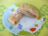 Závin s jablky (kynutý) recept