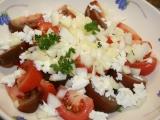 Chlapská rajčata recept