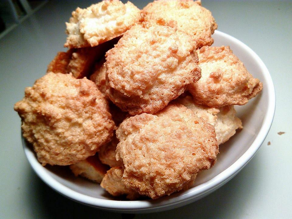 Jednoduché kokosky z bílků recept
