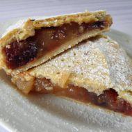 Křehký koláč s jablkovou náplní recept