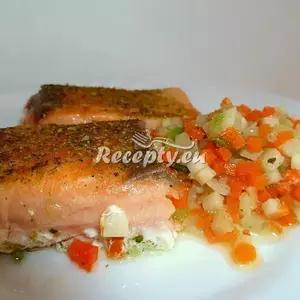 Kapr s bylinkovým máslem recept  ryby