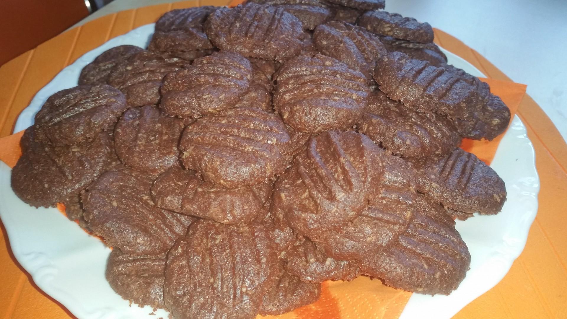Domácí kakaové sušenky recept
