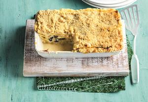 Brusinkové lasagne