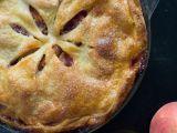 Broskvový koláč se skořicí recept