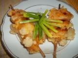 Sýrové špízy s ananasem recept