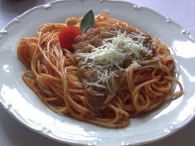Špagety po milánsku