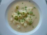 Krémová květáková polévka recept