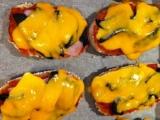 Pizza bagetky recept
