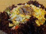 Zeleninový salát s tuňákem a rýží recept