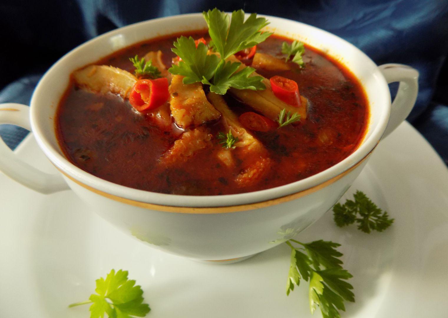 Pikantní dršťková polévka recept