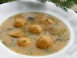 Starodávná polévka z hub recept